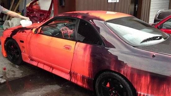 Công nghệ sơn xe tự đổi màu và những điều chưa biết - 1