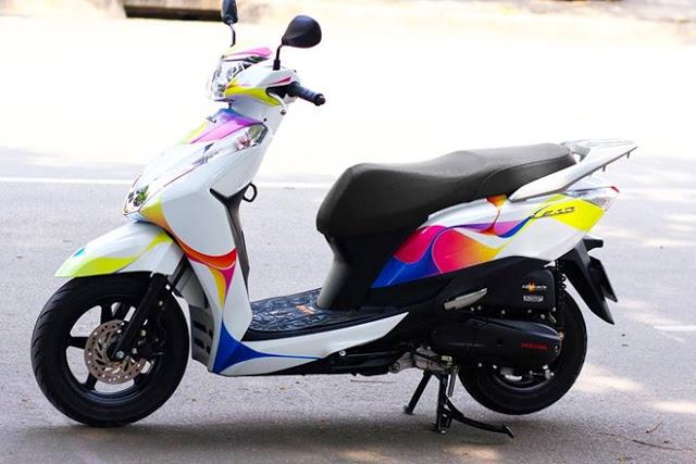 Honda lead sơn phối màu có đẹp không - 2
