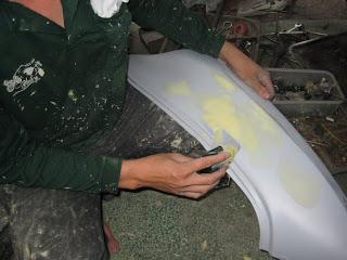 Quy trình kỹ thuật sơn xe máy chuyên nghiệp - 1