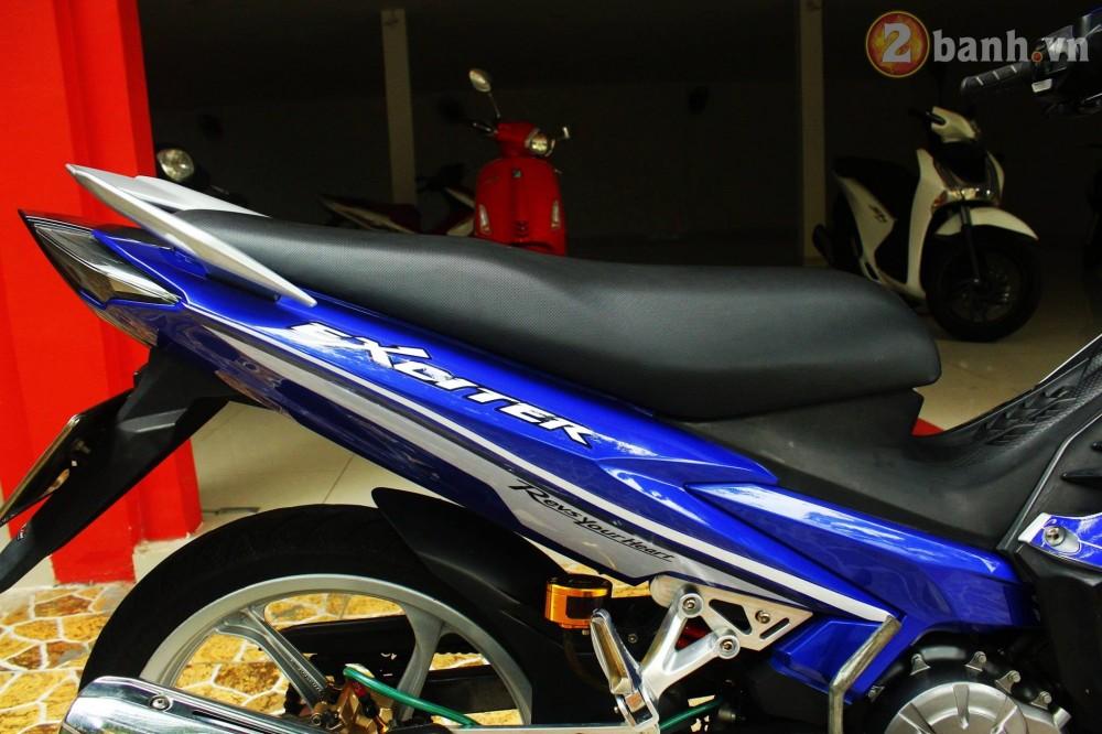 Sơn phối màu Exciter 135 RC phong cách Ex 150 GP