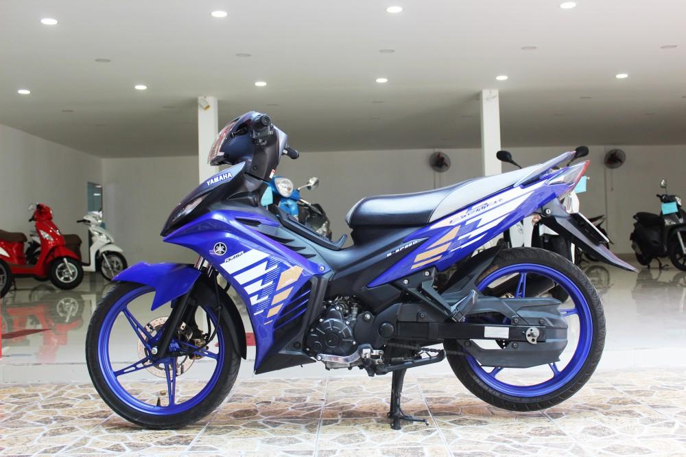Sơn phối màu Exciter RC xanh tím - xám