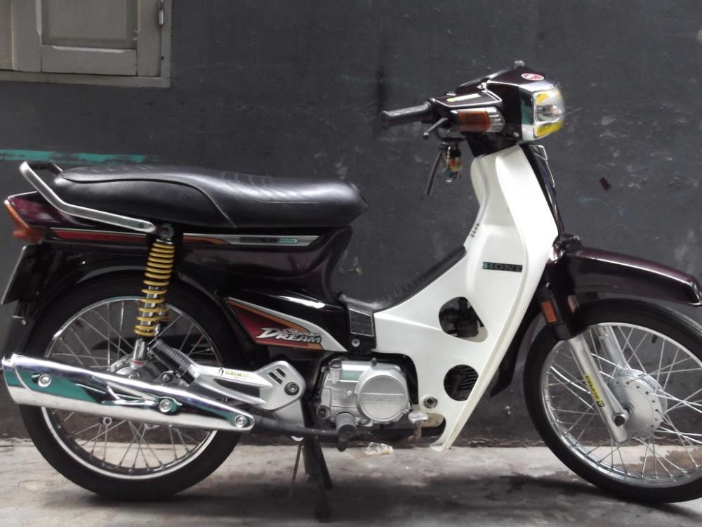 Sơn xe Honda dream màu zin cực đẹp