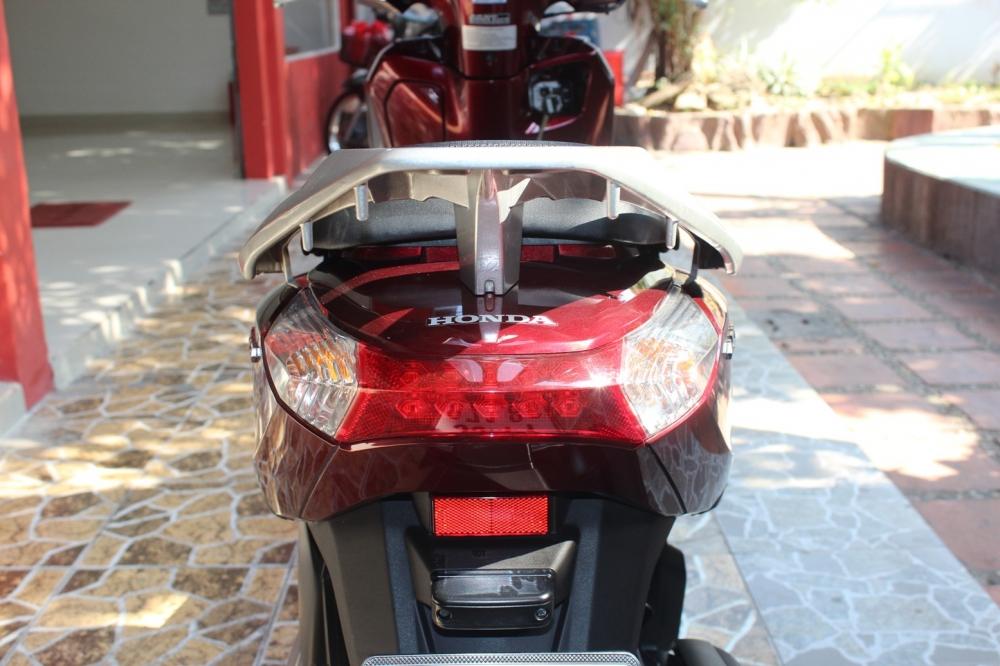 Sơn xe Lead 2013 màu đỏ zin cực đẹp