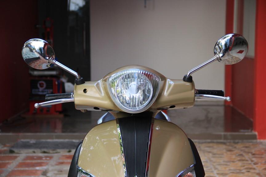 Sơn xe liberty 125 màu vàng zin cực đẹp