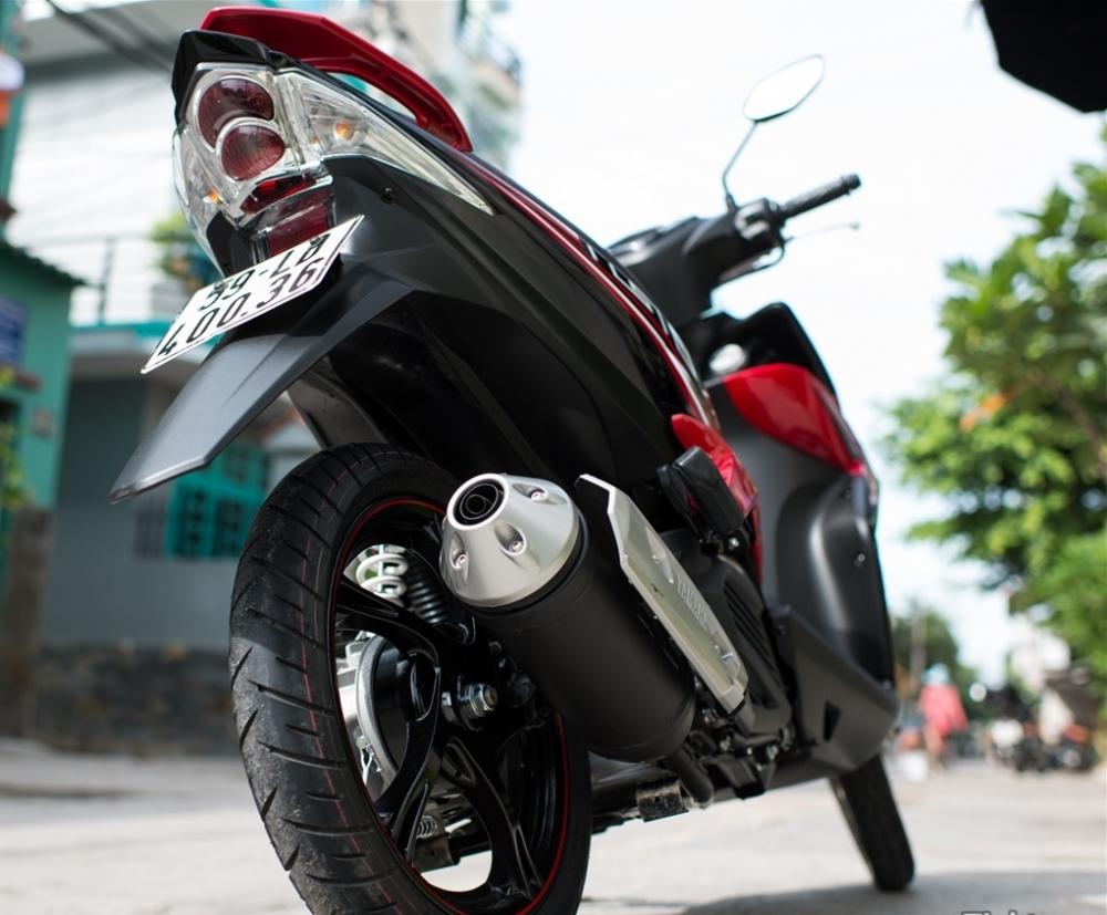 Sơn xe Luvias GTX màu đỏ đen zin cực đẹp