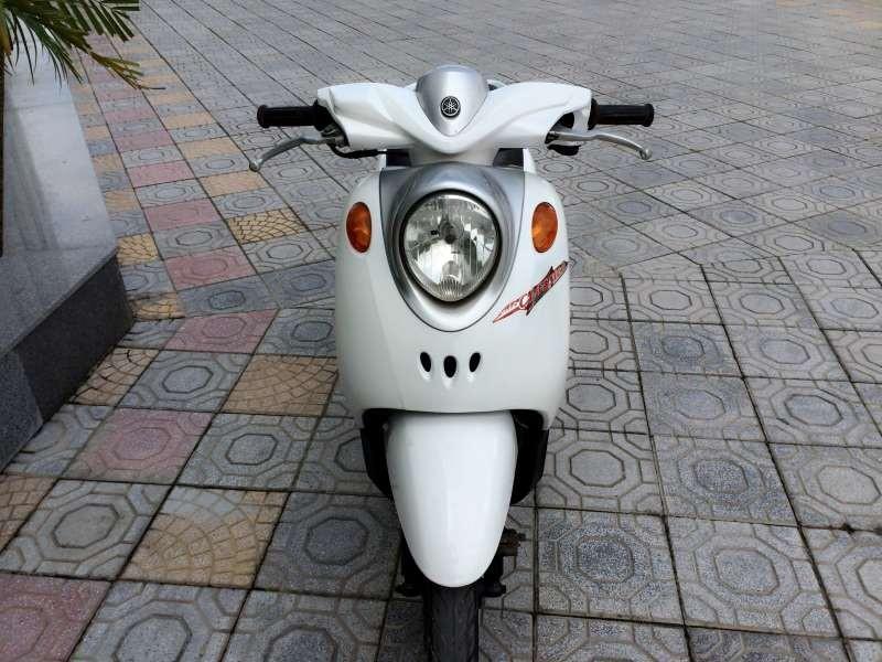 Sơn xe Mio Classico màu trắng zin cực đẹp