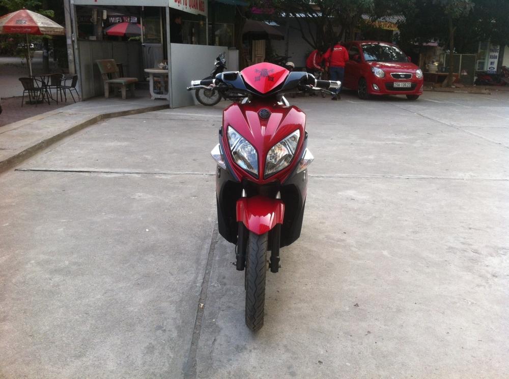 Sơn xe Nouvo LX màu đỏ zin cực đẹp