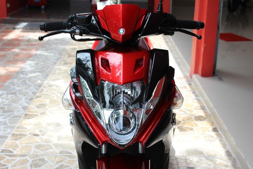 Sơn xe Nouvo SX RC màu đen đỏ zin cực đẹp