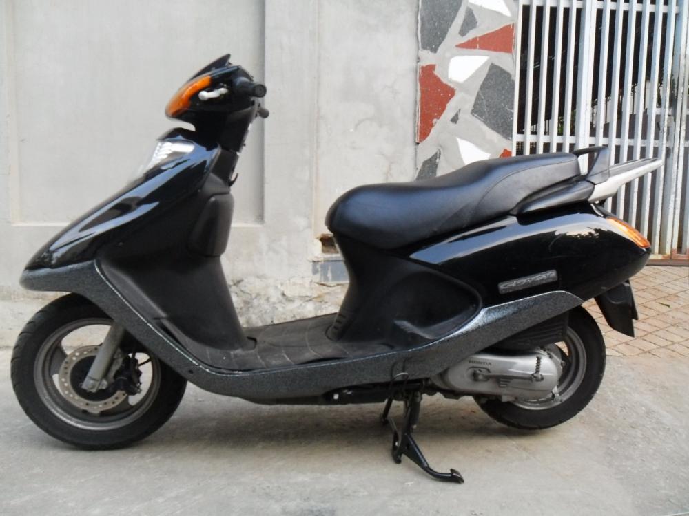Sơn xe Spacy màu đen zin cực đẹp