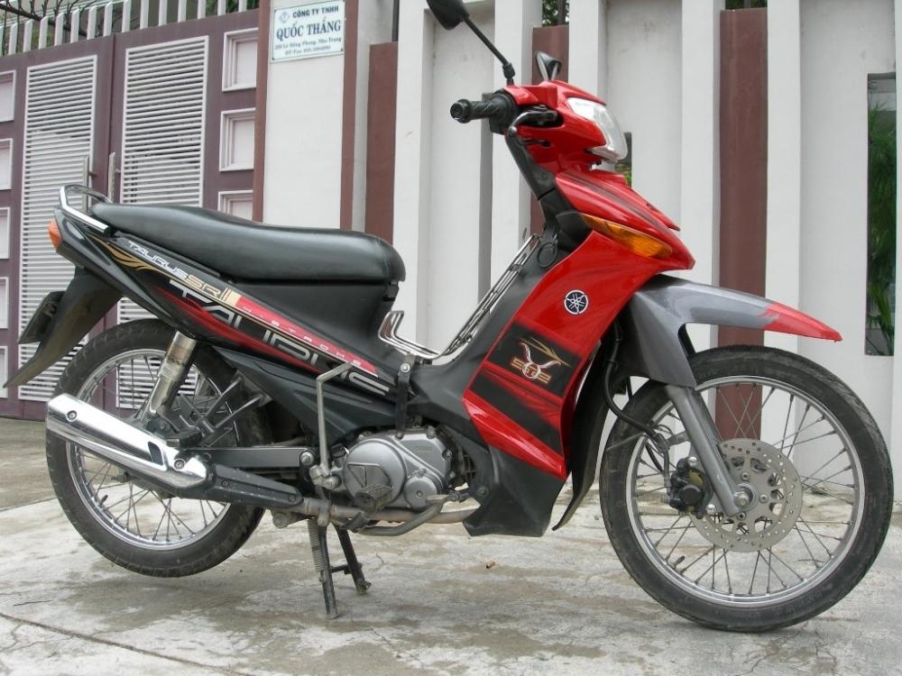 Sơn xe Taurus màu đỏ đen zin cực đẹp