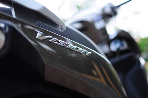 Sơn xe Vision 2014 màu xám zin cực đẹp