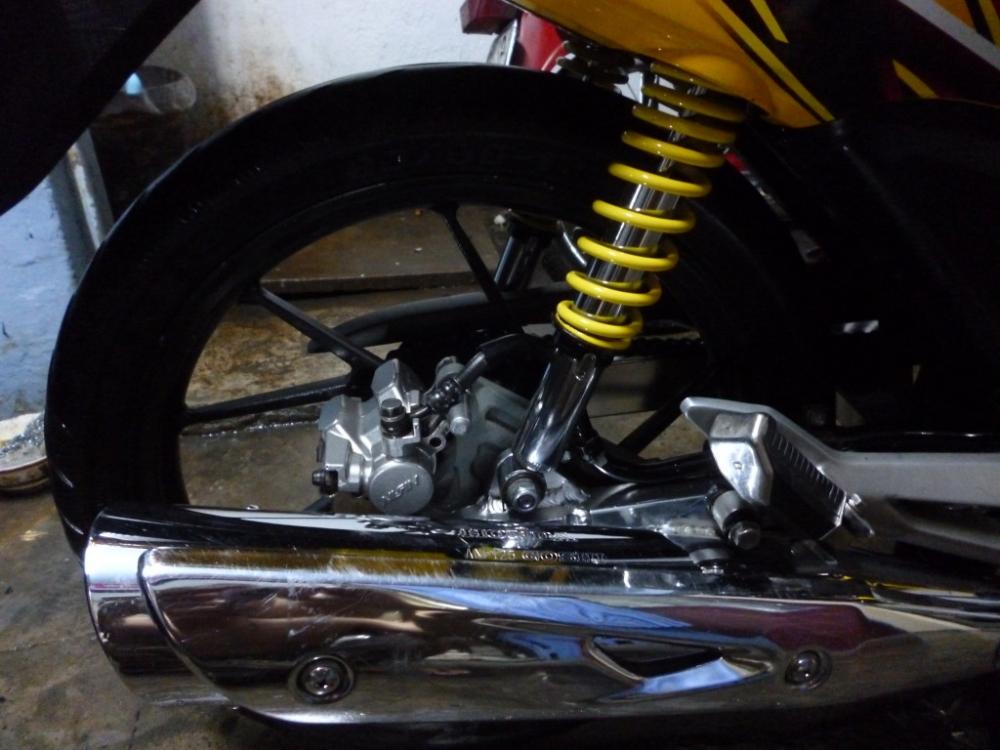 Sơn xe Wave RS màu vàng zin cực đẹp