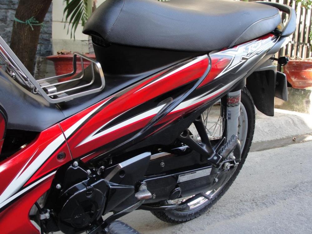 Sơn xe Wave RSX 110 màu đỏ đen zin cực đẹp