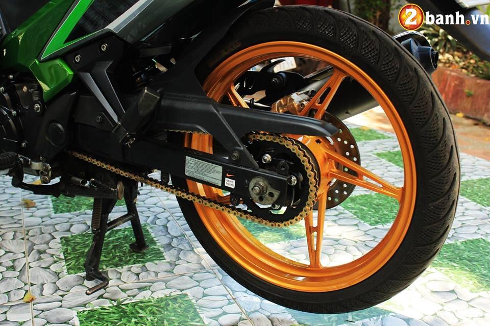 Sơn phối màu Exciter 135 phong cách Z1000