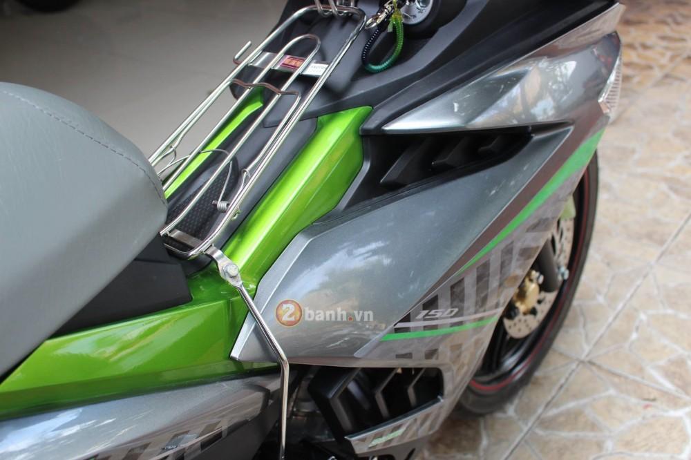 Sơn phối màu Exciter 150 phong cách Z1000