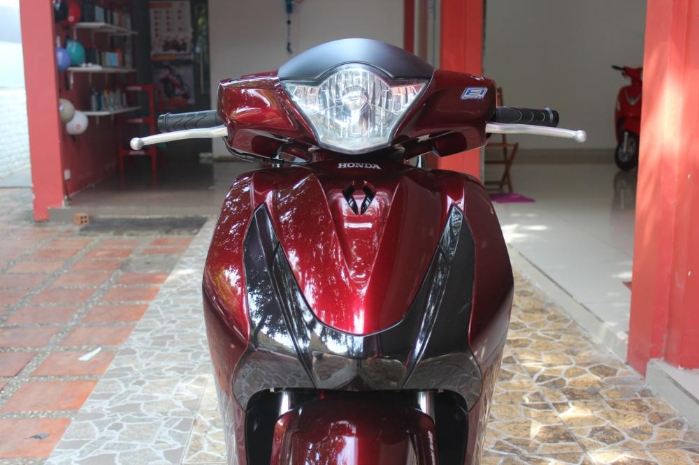 Sơn xe SHVN 125i 2014 đỏ - đen cực đẹp