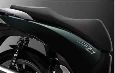 Sơn xe SH 150i 2015 xanh lục đen cực đẹp