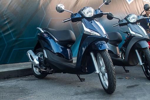 Sơn xe Liberty ABS xanh Blue zin cực đẹp