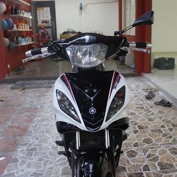 Sơn phối màu Exciter trắng đen sporty phong cách Spark