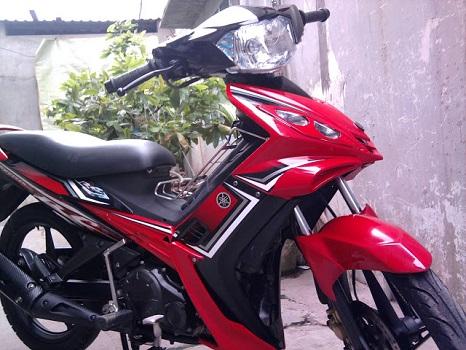 Sơn xe Exciter RC 2010 màu đỏ zin cực đẹp