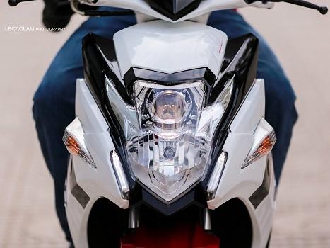 Sơn xe Nouvo SX RC màu trắng zin cực đẹp