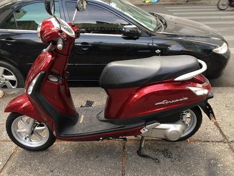 Sơn xe Nozza Grande màu đỏ zin cực đẹp