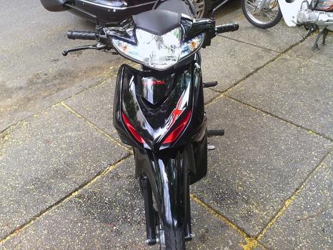 Sơn xe Wave RSX 110 màu đen zin cực đẹp