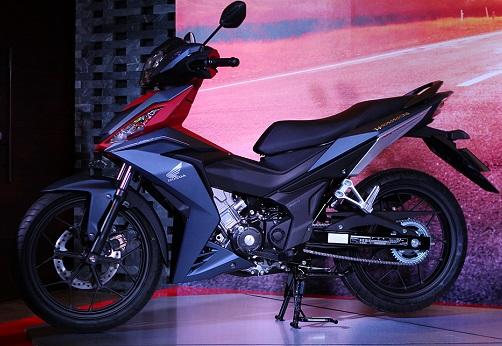 Sơn xe Winner 150 màu xanh đỏ đen cực đẹp