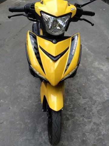 Sơn xe Exciter 150 màu vàng đen zin cực đẹp