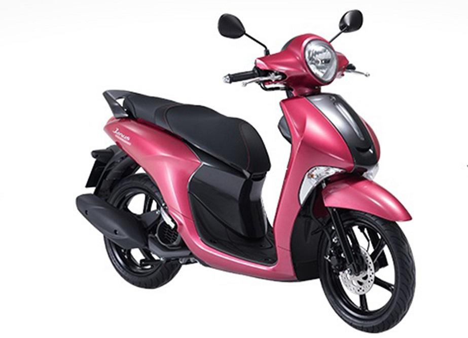 Sơn xe Janus màu hồng nữ tính tại TPHCM